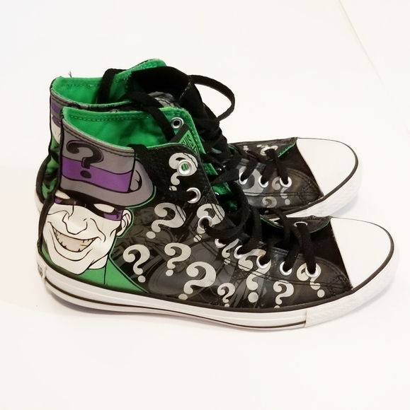 BATMAN DC COMICS Skater-Style Sneakers Shoes Boys//Youth Size 13 2 or 3 1
